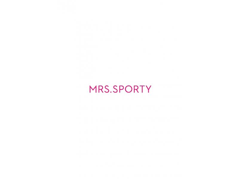 Mrs. Sporty